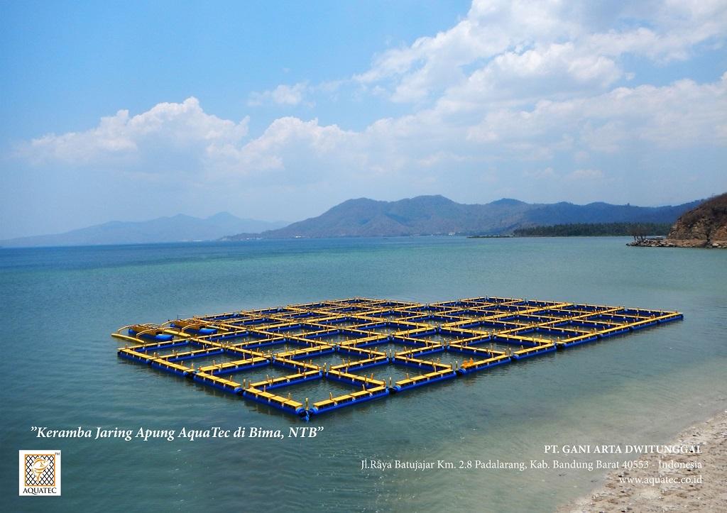 Keramba Jaring Apung 9 Aquatec Indonesia