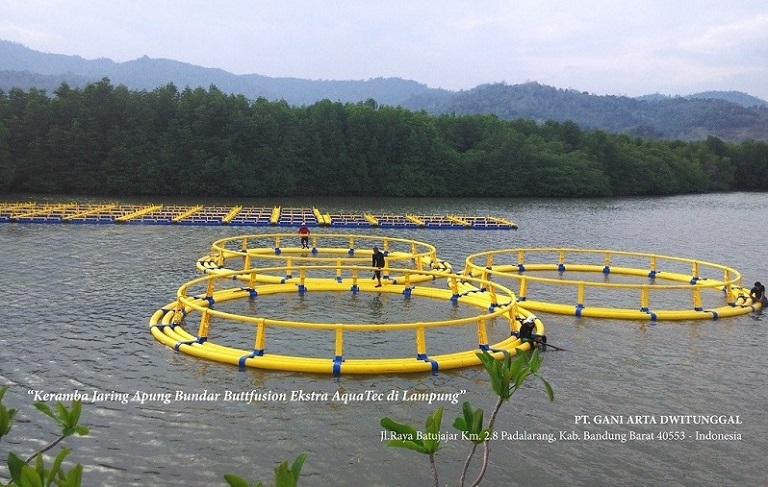 Buttfusion Round Floating Fish Cage